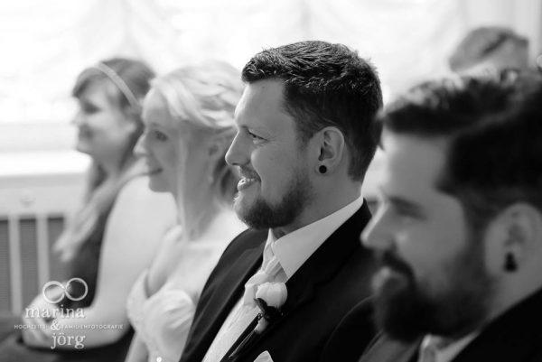 Marina und Jörg, Hochzeitsfotografen aus Gießen: Standesamt Villa Leutert