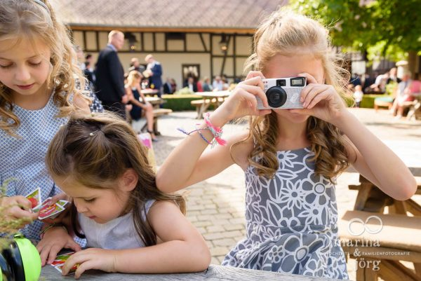 Hochzeit in der Eventscheune Dagobertshausen bei Marburg: Kinderbetreuung