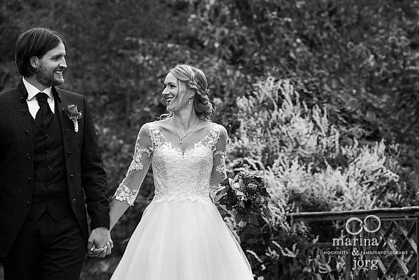 Hochzeitsfotograf Gießen: Paar-Fotoshooting nach einer Hochzeit im Kloster Arnsburg