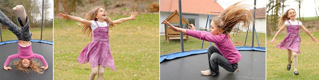 Moderne Kinderfotografie: Spielen und Toben