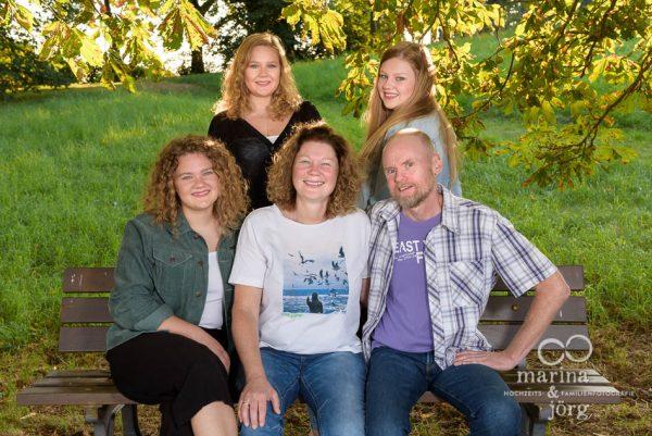 lockere Familienfotos - Familienfotografen Gießen