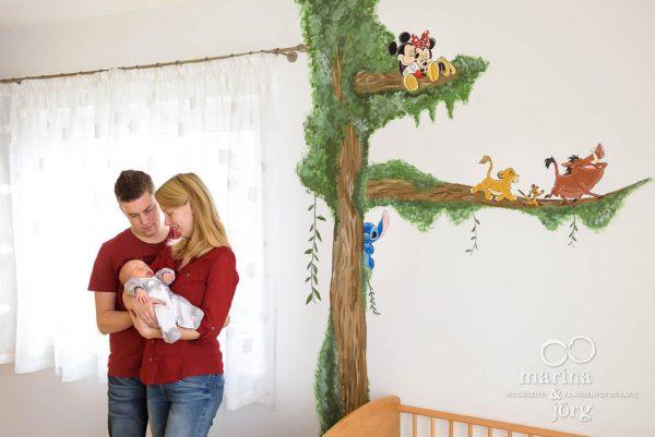 natürliche Neugeborenenfotos für Gießen: professionelle Babyfotos halten Erinnerungen an diese einzigartige Zeit fest