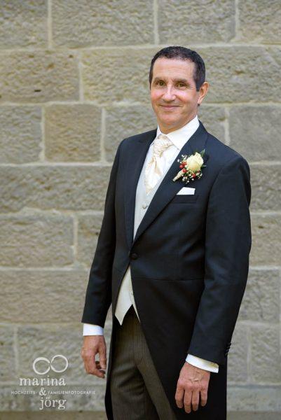 natürliche Hochzeitsfotos in Gießen - Portrait des Bräutigams