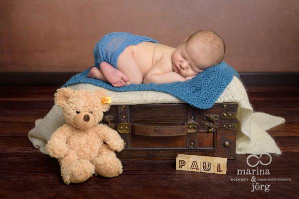 Neugeborenen-Fotografen aus Gießen: Babyfoto