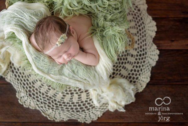 Babyfotograf Gießen: professionelles Neugeborenen Fotoshooting zu Hause