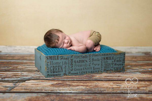 Neugeborenenfotograf Gießen: professionelle Babyfotos ganz entspannt zu Hause - Babygalerie Gießen von Marina und Jörg
