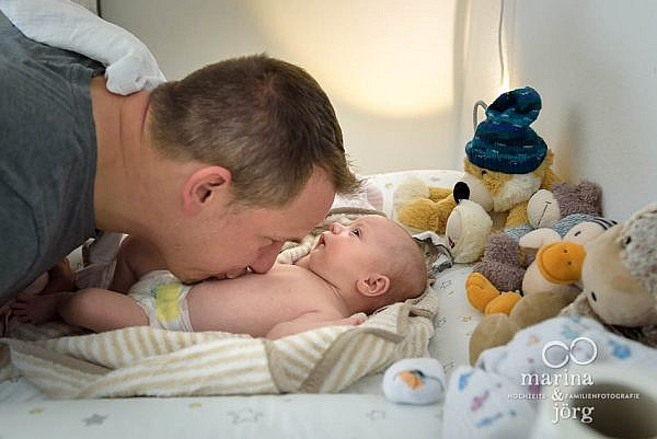Newborn photographer for Wetzlar - documentary photo session