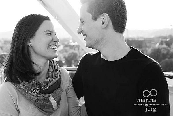 Hochzeitsfotograf Marburg: Paar-Fotoshooting vor der Hochzeit zum Kennenlernen mit den Fotografen