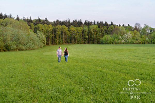Paar-Fotoshooting mit den Hochzeitsfotografen Marina und Jörg aus Gießen - Engagement-Session / Kennenlern-Fotoshooting