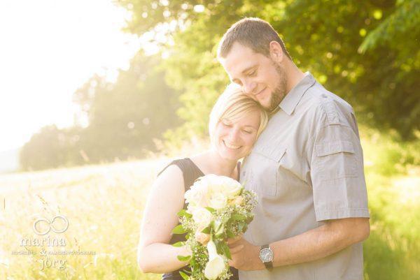 Marina und Joerg, Hochzeits-Fotografen Giessen: romantisches Paar-Fotoshooting - eines der besten Geschenke zum Hochzeitstag