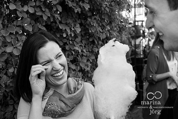 Paar-Fotoshooting in Marburg mit den Hochzeitsfotografen Marina und Jörg aus Gießen - Engagement-Session / Kennenlern-Fotoshooting