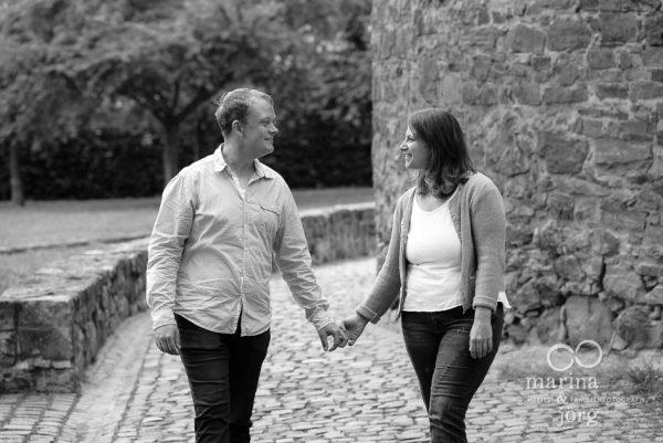 Paar-Fotoshooting im Schloss Butzbach