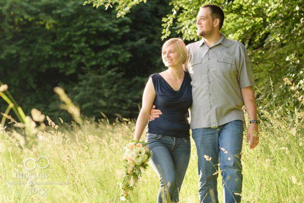 Marina und Joerg, Hochzeits-Fotografen Giessen: romantisches Paar-Fotoshooting als Geschenk zum Hochzeitstag