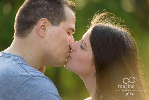 romantisches Paar-Engagement-Fotoshooting bei Gießen