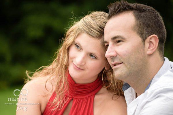 Paarfoto von den Hochzeitsfotografen Marina und Jörg aus Gießen