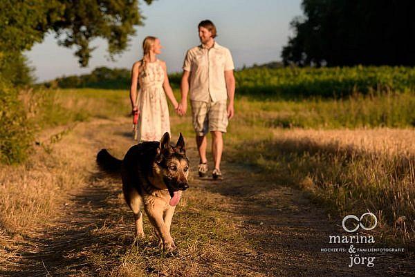Paarfotos in Laubach - Fotoshooting vor der Hochzeit