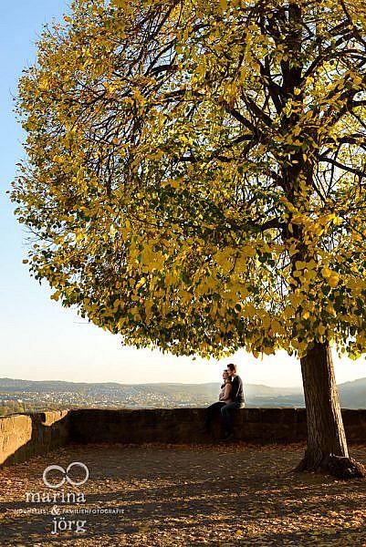 Paar-Fotoshooting in Marburg