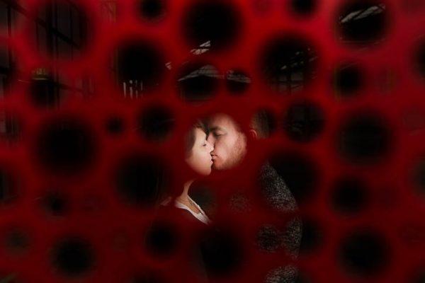Marina und Jörg, Hochzeits-Fotografen aus Gießen: moderne Paarfotos - ein Schatz fürs Leben