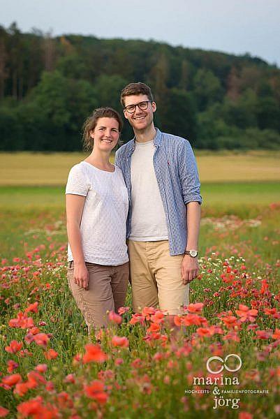 Engagement Paar-Fotoshooting bei Marburg - Hochzeitsfotografie Marburg