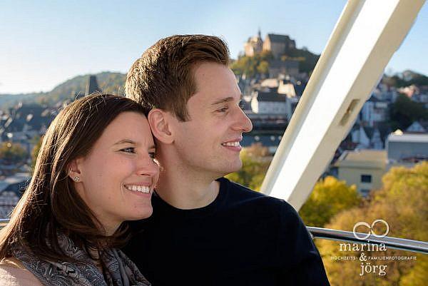 moderne Paarfotos entstanden bei einem Paarshooting in Marburg - Kennenlern-Fotoshooting