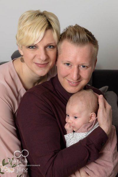 professionelle Familienfotos zuhause machen lassen