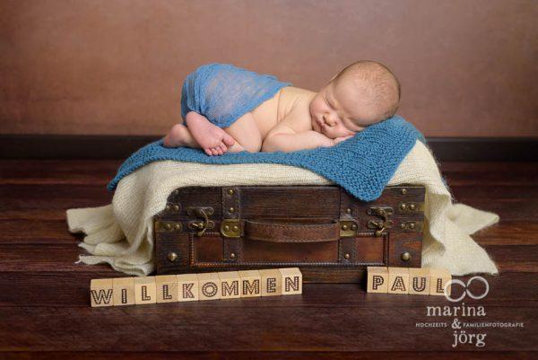 Babyfotograf Gießen: professionelles Neugeborenen Fotoshooting ganz entspannt zu Hause - Babygalerie