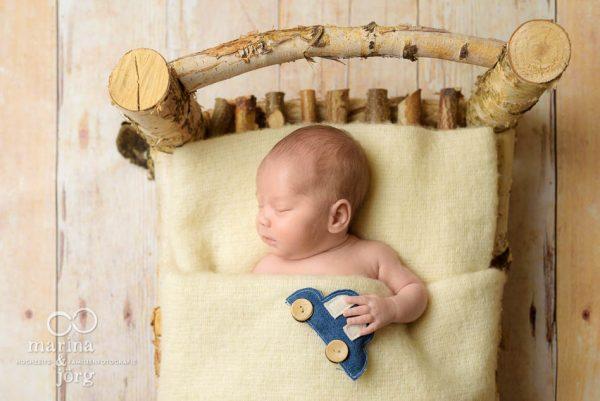 professionelles Neugeborenen-Fotoshooting bei Gießen - Babyfotografie Marina & Jörg
