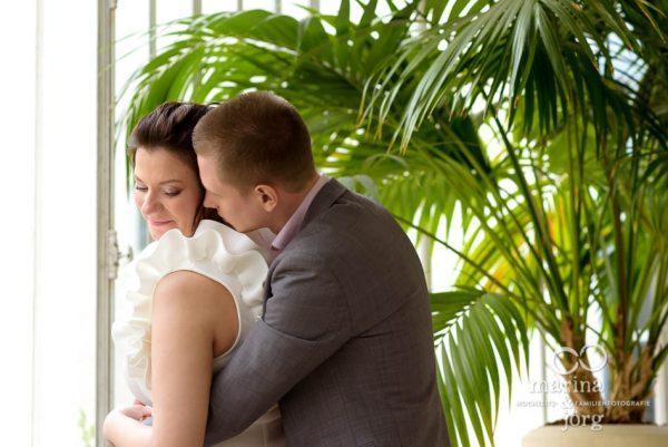 Marina & Jörg, moderne Hochzeitsbilder in Gießen: romantisches Hochzeitsbild