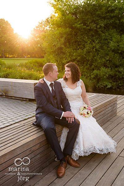 romantisches Hochzeitsfoto in Gießen - Marina & Jörg, Fotografen für eure Hochzeit