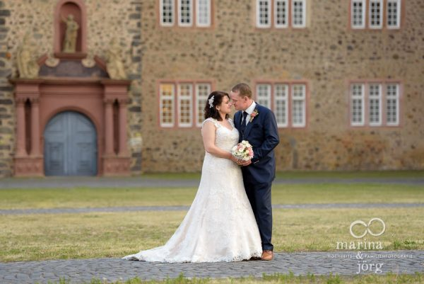 romantische Hochzeitsfotos bei einer Hochzeit im Schloss Butzbach bei Gießen - Marina & Jörg Hochzeitsfotografie