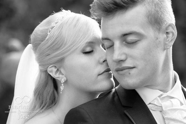 Marina und Joerg, moderne Hochzeitsbilder in Marburg: romantisches Hochzeitsfoto