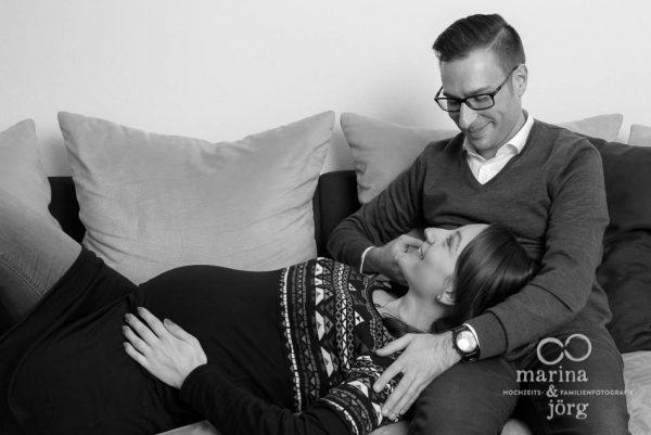 Schwangerschaftsfoto entstanden bei einem Babybauch-Fotoshooting in Wetzlar