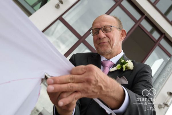 Hochzeitsreportage bei einer Trauung im Standesamt Gladenbach - Marina & Jörg Hochzeitsfotografie