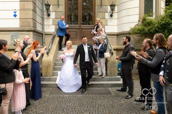 Hochzeit im Standesamt Villa Leutert in Gießen - Hochzeitsfotograf Gießen