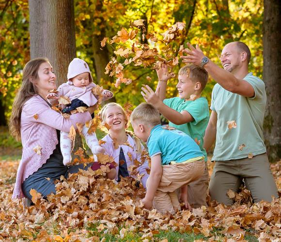 professionelles Familien-Fotoshooting in Marburg und Gießen - Familienfotografie