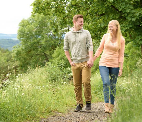 Paar-Fotoshooting in Gießen und Marburg