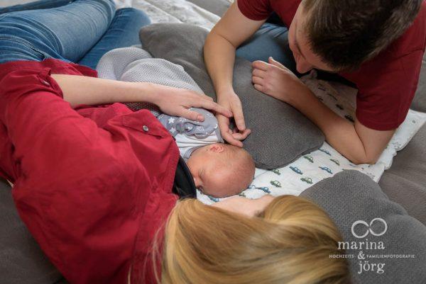 Babyfotograf Gießen - ungestellte Babyfotos als authentische Erinnerung an diese ganz besondere Zeit