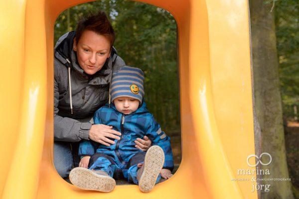 ungestellte Familienfotos - Familien-Fotograf Marburg