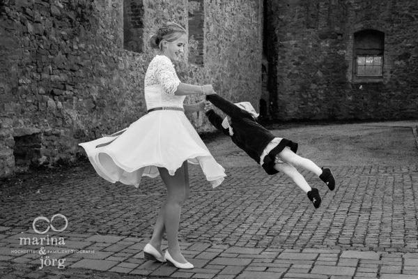 ungestellte Hochzeitsfotos in Rockenberg bei Gießen