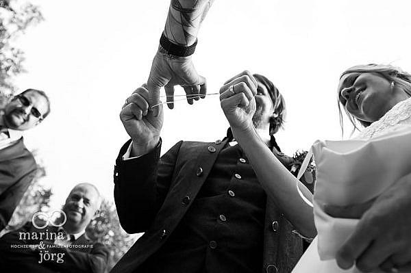 Hochzeit im Landhotel Waldhaus bei Gießen - verzaubertes Brautpaar